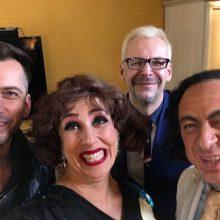 Alanas Chošnau <span style=color:red;>(kairėje)</span>, Džilda Vaigauskienė, Aras Vėberis, Orestas Vaigauskas
