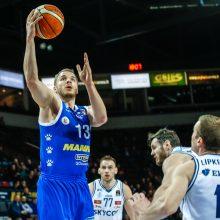 """""""Neptūno"""" krepšininkai žengė į Karaliaus Mindaugo taurės pusfinalį"""
