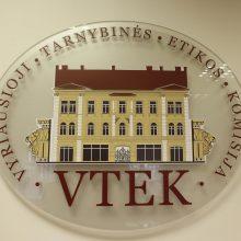 VTEK registravo pirmuosius įtakdarius teisėkūrai
