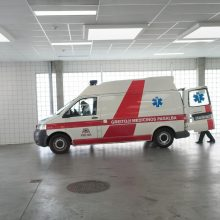 Po avarijos Radviliškio rajone ligoninėje atsidūrė du žmonės