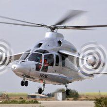Sraigtasparnis žvalgys situaciją dėl prie Lietuvos sienos priartėjusio gaisro