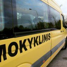 Ministerija: mokykliniais autobusais gyventojus galima vežti vakcinuotis
