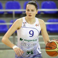 """Į """"Hoptrans-Sirenas"""" sugrįžusi E. Tarasevičiūtė: tikiuosi aukščiausio apdovanojimo"""