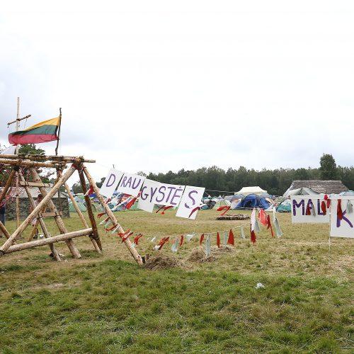 """100-mečio stovykla """"Laužų karta""""   © Aliaus Koroliovo nuotr."""