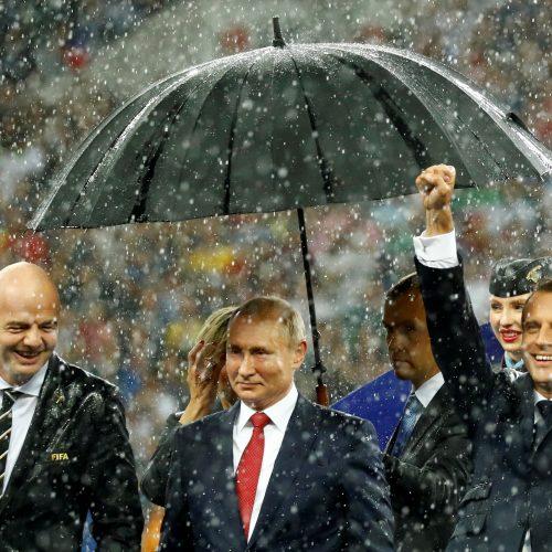 Pasaulio futbolo čempionato finalas: Prancūzija – Kroatija  © Scanpix nuotr.
