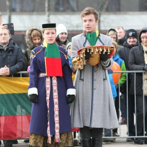 Vasario 16-oji Klaipėdoje
