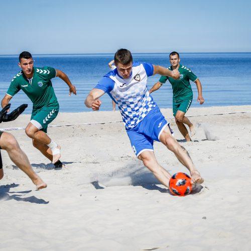 Paplūdimio futbolas  © Vytauto Petriko nuotr.