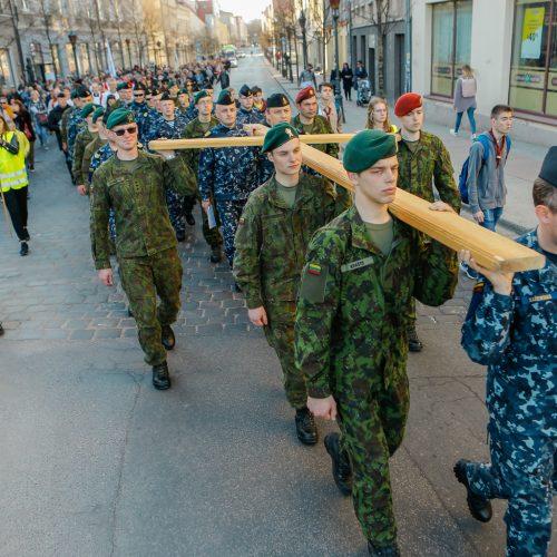 Šv. Kryžiaus kelias Klaipėdos miesto gatvėmis