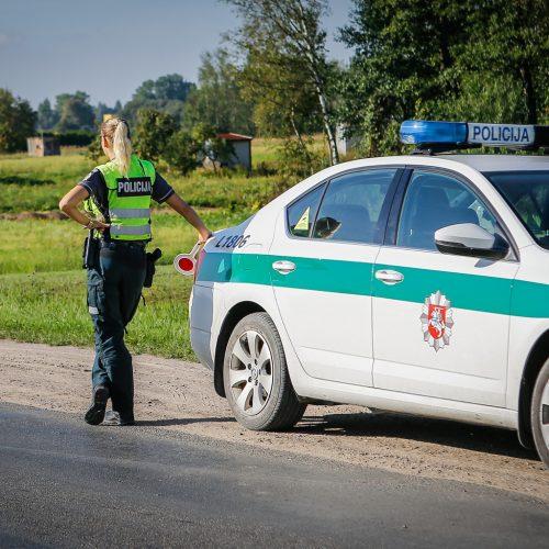 Policijos reidas Klaipėdos rajone 2019.08.24