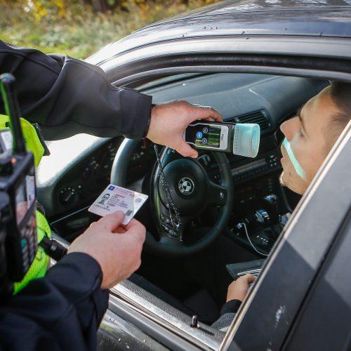 Policijos reidas Klaipėdoje 2019.10.19