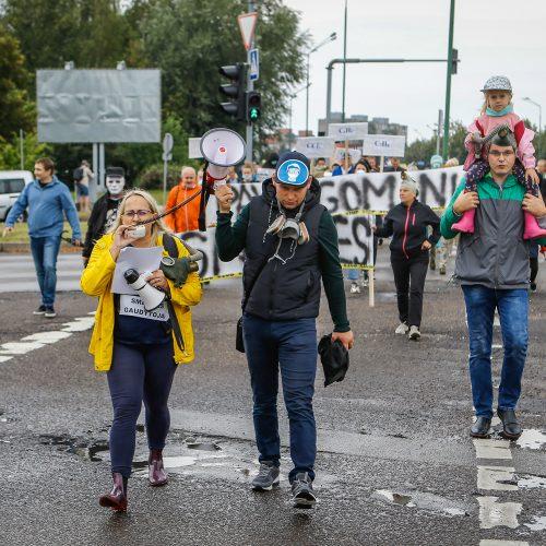 "Protestas ""Smarvei ne""  © Vytauto Petriko nuotr."