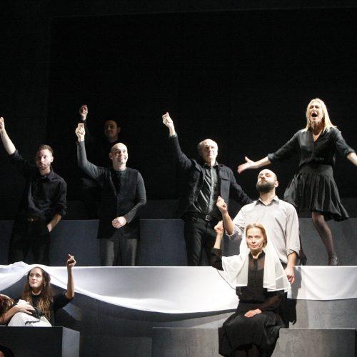 Klaipėdos dramos teatro scenoje – išskirtinė premjera  © Vytauto Liaudanskio nuotr.