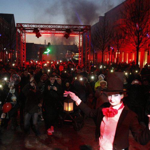 Klaipėdoje prasidėjo šeštasis Šviesų festivalis