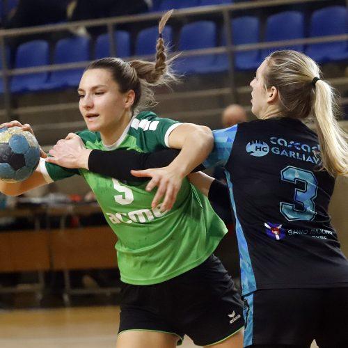 """LMRL  HC """"Garliava"""" – Kauno """"Žalgiris"""" 35 - 36"""