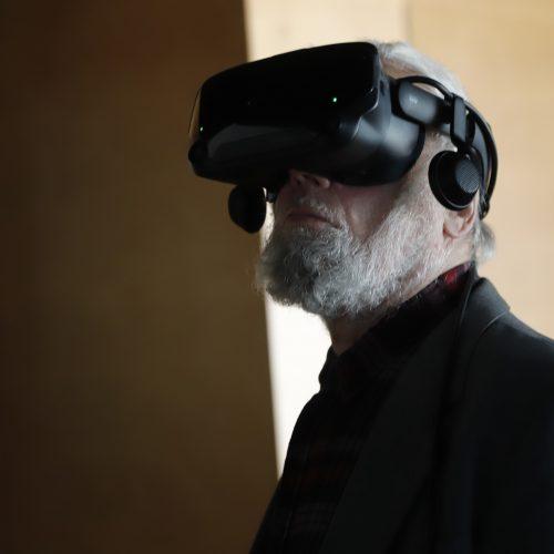 Virtualus žvilgsnis į M.K.Čiurlionio kūrybą  © Laimučio Brundzos nuotr.