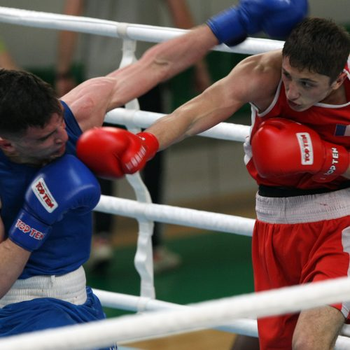 A.Šociko bokso turnyras  © Laimučio Brundzos nuotr.