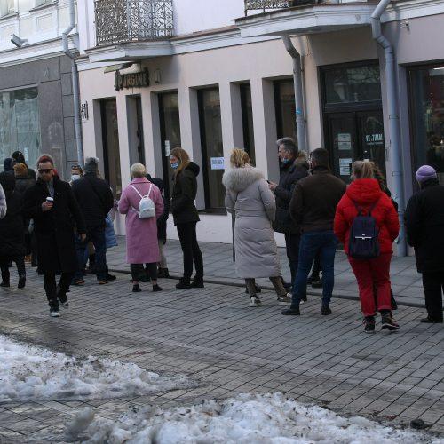 Šeštadienis be kaukių Kaune  © Laimučio Brundzos nuotr.