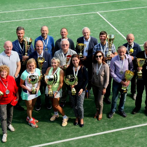 Profesorių teniso taurė 2020  © Laimučio Brundzos nuotr.