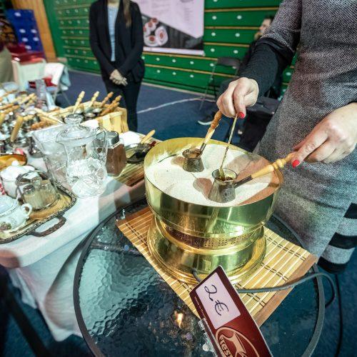 Maisto mugė Kauno sporto halėje  © Eitvydo Kinaičio nuotr.