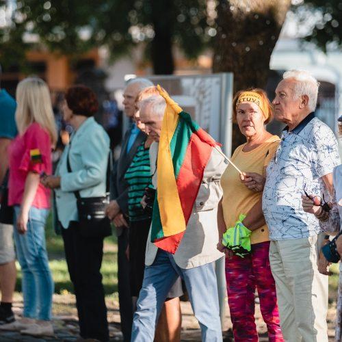 Baltijos kelio minėjimas Kauno prezidentūroje