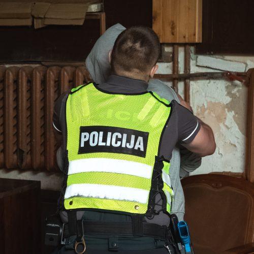 Kauno policijos pareigūnų konkursas  © Eitvydo Kinaičio nuotr.