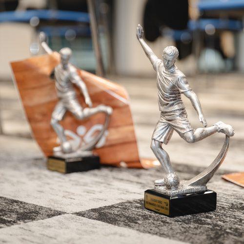 Pirmos lygos apdovanojimai Hegelmann klube  © Eitvydo Kinaičio nuotr.