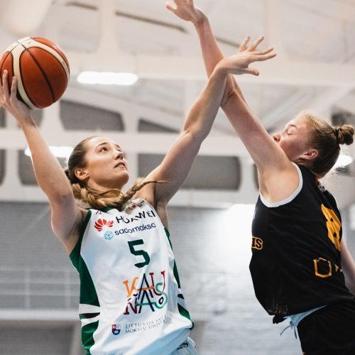"""Moterų lyga: Kauno """"Aistės-LSMU"""" – Vilniaus """"Kibirkštis-VKM"""" 75:37"""
