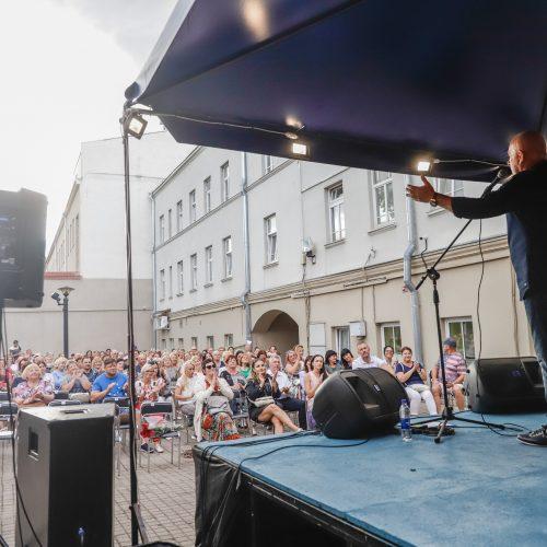 """O.Vyšniausko koncertas """"Gertrūdos vasara 2021"""" festivalyje  © Justinos Lasauskaitės nuotr."""