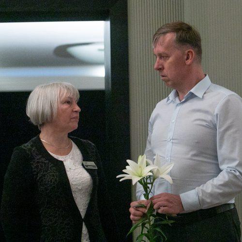 Lietuva atsisveikina su legendine aktore G. Balandyte  © Justinos Lasauskaitės nuotr.