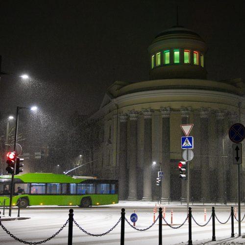 Kauno Filharmonijos languose nušvito trispalvės