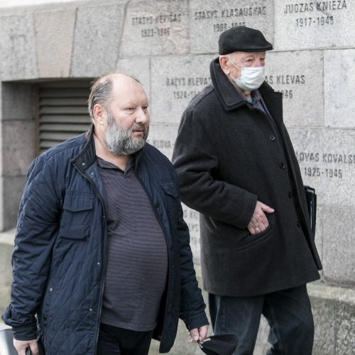 V. Medineckas-Ironvytas teisme  © P. Peleckio / Fotobanko nuotr.
