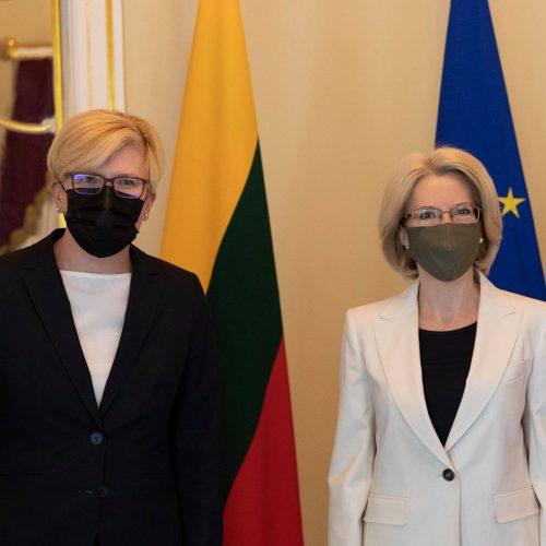 I. Šimonytės vizitas Latvijoje