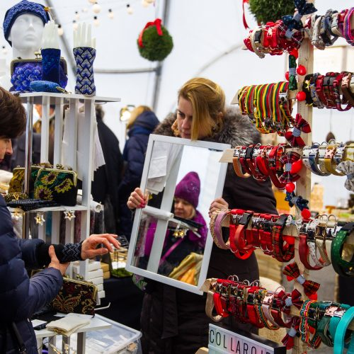 Kalėdinis Dizaino skveras Vilniuje  © Irmanto Gelūno / Fotobanko nuotr.