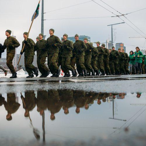 """Pagarbos bėgimas """"Gyvybės ir mirties keliu""""  © Irmanto Gelūno / Fotobanko nuotr."""