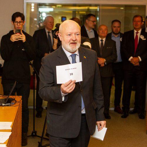 Partijos išsitraukė numerius  © Pauliaus Peleckio / Fotobanko nuotr.