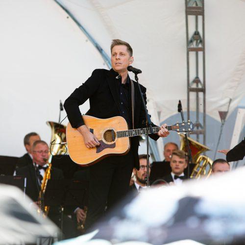 Šventinis koncertas Daukanto aikštėje