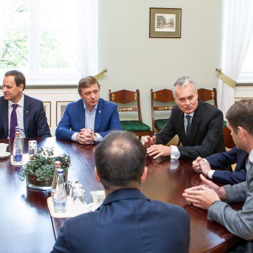 G. Nausėda susitiko su partijų vadovais