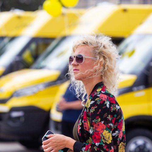 Nauji autobusiukai perduoti mokykloms  © I. Gelūno / Fotobanko nuotr.