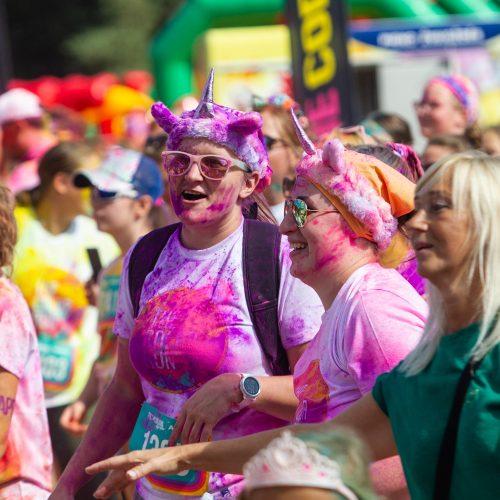 """The Color Run"" bėgimas  © P. Peleckio / Fotobanko nuotr."