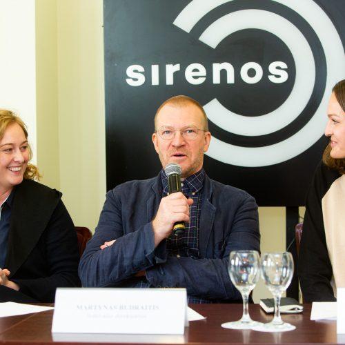 """Festivalio """"Sirenos"""" pristatymas  © G. Skaraitienės / Fotobanko nuotr."""