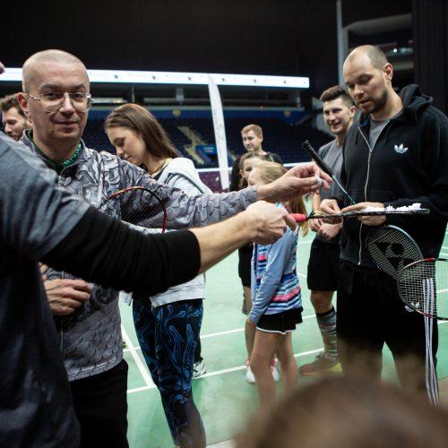"""Badmintono turnyras """"Už pergalę gyventi""""  © G. Skaraitienės / Fotobanko nuotr."""