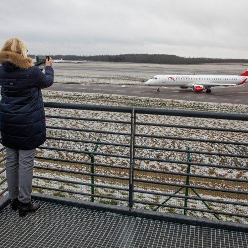 Atidaryta lėktuvų stebėjimo aikštelė