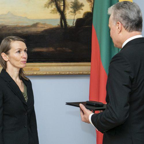 Aktorei V. Kuodytei įteikta Nacionalinė premija  © P. Peleckio / Fotobanko nuotr.