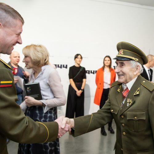 Pristatyta atkurta partizanų uniforma  © G. Skaraitienės / Fotobanko nuotr.