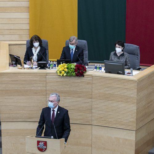 Steigiamojo Seimo 100-mečio minėjimas  © P. Peleckio / Fotobanko nuotr.