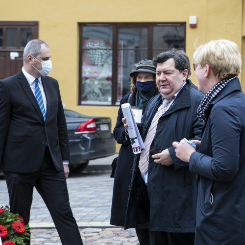 Pagerbtas iš Vilniaus kilusio W. Pileckio atminimas  © P. Peleckio / Fotobanko nuotr.