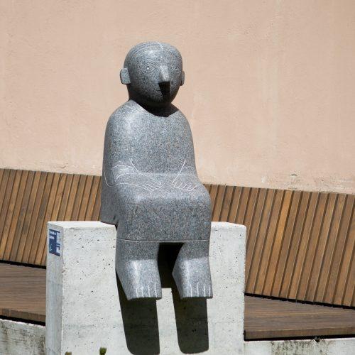 Naujo Vilniaus kalbančių skulptūrų sezono atidarymas  © I. Gelūno / Fotobanko nuotr.