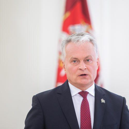 Prezidento spaudos konferencija  © I. Gelūno / Fotobanko nuotr.
