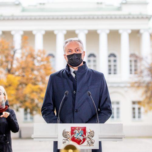 Prezidento komentarai po Seimo rinkimų  © I. Gelūno / Fotobanko nuotr.