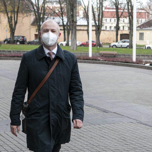 G. Nausėda susitinka su kandidatu į ministrus S. Gentvilu  © P. Peleckio / Fotobanko nuotr.